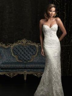 Old Hollywood Glamour wedding dress