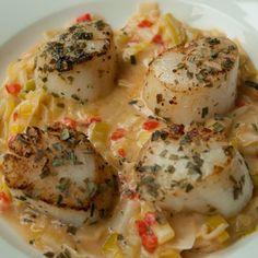 Fish Recipes, Seafood Recipes, Bbq Desserts, Coquille Saint Jacques, I Want Food, Tempura, Lean Meals, Good Food, Yummy Food