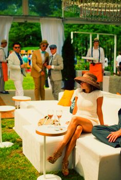 Ready for Veuve Clicquot's Polo Classic