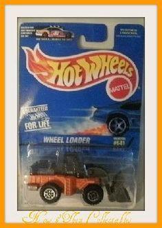 Hot Wheels 641 Wheel Loader & 373 Street Cleaver $11.00