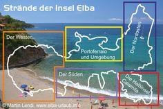 Strände der Insel Elba