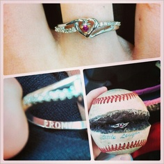 Best Prom proposal ever! Im just saying that this is my favorite. Simply because I have been asking for a ring. Even though we arent baseball people.