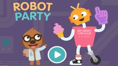 Build Your own Robot - Funny Game Robot Party by Sago Mini