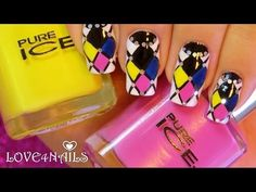 ▶ Manicure Monday Nail Art Design #2 for StyleHaul Blog ~ Tutorial - YouTube