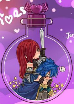 Fairy Tail - Jellal x Erza