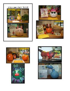 LOVE THIS IDEA - Pumpkin Book Report project. Use a pumpkin to present the book you are reading in October as alt for regular book report Book Report Projects, Reading Projects, Book Projects, School Projects, School Holidays, Holidays Halloween, Halloween Ideas, Halloween Stuff, School Days