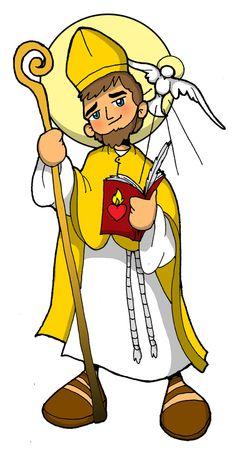 Fiesta: 28 agosto Nació el 13 de noviembre del año 354, en el norte de África. Por su extraordinaria inteligen... San Juan Diego, San Francisco Javier, Catholic Saints, Roman Catholic, Modern Church, Holy Rosary, All Saints, Caricature, Tweety