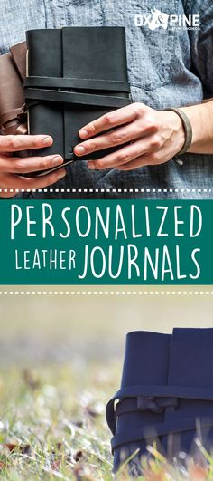 Our journals are made of the highest quality leather and are made to order with all the personal touches you could want. From the color of leather to the initials or wording inscribed on the front, make this journal your own. Leather Gifts, Handmade Leather, Leather Journal, Ox, Art Journaling, Wood Working, Journals, Pine, Initials