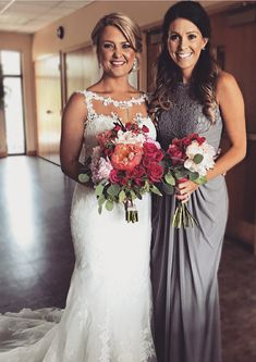 Sheath/Column Elastic Satin Bridesmaid Dress Sleeveless Long/Floor-Length Bateau With Lace!#Feeltimes#BridesmaidDress