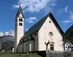 Chiesa di San Michele Arcangelo La Valle Belluno Dolomiti Veneto Italia