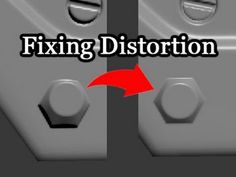 Game Assets - Fixing Normal Map Distortion