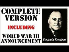Benjamin H. Freedman speech (UNEDITED VERSION!) 1961 - YouTube
