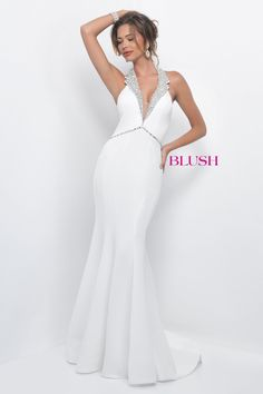 3cad3c4c2dd 11298 in White  Available in Black in store Blush Prom Dress