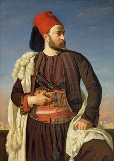 Benouville, Portrait de Leconte de Floris en uniforme de larmée égyptienne, 1840