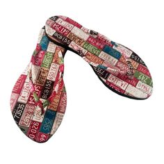 b37cd8d1464a8 Kawaii Series- Slim States Tags Sandal Light Pink   Multicolor. Chose Chic