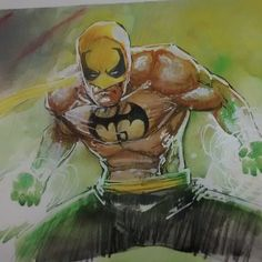 Iron Fist by Rod Reis
