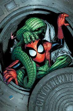 Marvel Adventures: Spider-Man #11 cover •Patrick Scherberger & Edgar Delgado