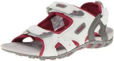 "Nevados Women's Torrent V6514W Sandal Nevados. $30.00. synthetic. Rubber sole. Heel measures approximately 1.00"""