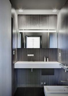 Contemporary small bathroom