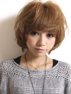 Cute Short Japanese Hairstyles 2013