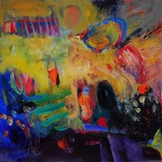 by Anna Hryniewicz, Choose to live, acrylics on paper Abstract Expressionism, Abstract Art, Colorful Paintings, Art Paintings, Abstract Paintings, Organic Art, Large Art, Art Projects, Canvas Art