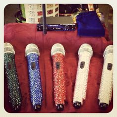 Alert! #Singers out there. Affordable wireless #sparkle #microphones $149.99 if you mention our pinterest account.