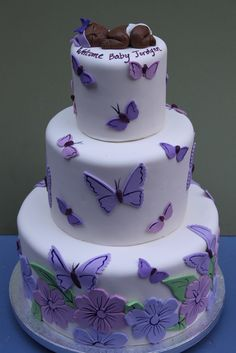 Little Brown Baby Cake @ShaunandJason Hatcher Hatcher Hatcher @Lisa  Phillips Barton Phillips . Purple Butterfly ...