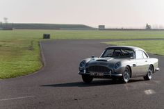 Aston Martin DB5 Stunt Cars from No Time to Die Prove Mettle on Silverstone Track