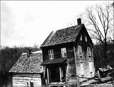 Historic Hex Hollow Murder house - read all about it at: http://www.house-crazy.com/the-house-at-hex-hollow/