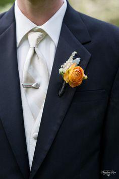 bold but elegant - orange ranunculus