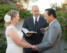 Lana and Phoc exchanged vows in front of family and friends.   Venue: The Historic Cottage (San Clemente)  Event Planner: Events by Valerie   Hair and Makeup Artist: Blush by M. Marie