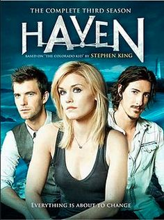 "HAVEN, my newest obsession! One of the best Canadian SyFi TV shows! And Eric Balfour stars as ""Duke"" which helps make the show awesome ;) <3"