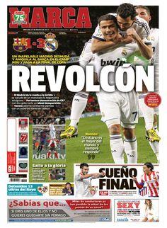 'Revolcón' | La portada del 27 de febrero de 2013