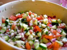 homemade fresh salsa. yum.
