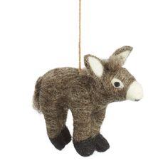 What a happy little donkey! Available here: http://www.feltsogood.co.uk/donkey.html