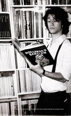 Joseph Gordon Levitt - because a man who loves to read is the sexiest.