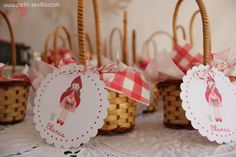 Love these Red Riding Hood Tags!