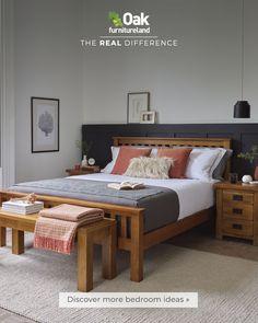 Room Design Bedroom, Room Ideas Bedroom, Bedroom Furniture Sets, Home Decor Bedroom, Furniture Wax, Solid Oak Beds, New Room, Interior Design, Farmhouse Design