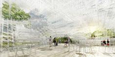 藤本壮介建築設計事務所:サーペンタイン パビリオン 2013