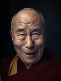 """""""Do not try to use what you learn from Buddhism to be a Buddhist; use it to be a better whatever-you-already-are."""" ~ Dalai Lama by betsy 14th Dalai Lama, Buddha Buddhism, Gautama Buddha, Best Portraits, People Of The World, Famous People, Beautiful People, In This Moment, Spirituality"""