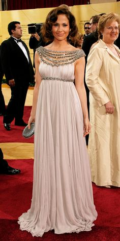 Jennifer Lopez's Best Red Carpet Looks - In Marchesa, 2007 from #InStyle