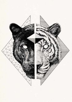 small tiger tattoo - Nikita and Shazam Print Tigeraugen Tattoo, Type Tattoo, Tattoo Drawings, Small Tattoos, Tattoos For Guys, Panther Tattoos, Black Panther Tattoo, Cheetah Tattoo, Lion Tattoo Design