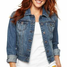 i love jean jackets.. they go with every outfit and perfect for all seasons. @Michelle Berns
