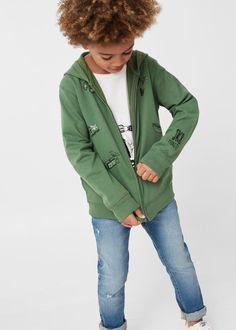 Katoenen hoodie -  Kinderen   MANGO Kids België