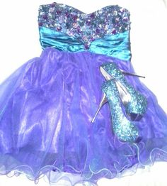 Homecoming dress + shoes!