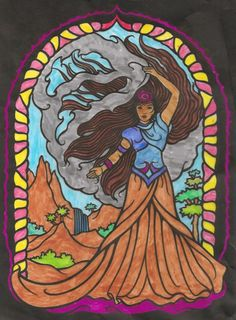 Oliver age 8 (Under 12 division) from Magical Wizards Stained Glass Coloring Book: http://store.doverpublications.com/0486456730.html