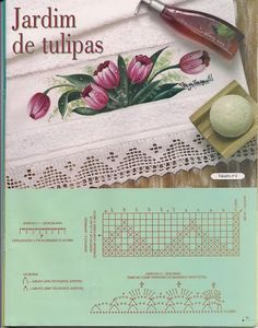 Trabalhos de Pintura em Crochê - Banho N.º 1 - Lidia Arte - Álbumes web de Picasa