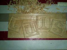 Talla en madera de tilo