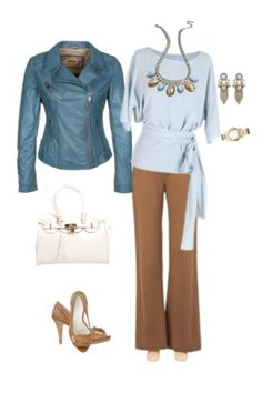 Outfit for work. Love it! Maybe no jewelry. I'll get into that one day. Clothes are to die for!