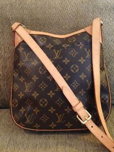 Louis Vuitton Odeon Monogram Cross Body Bag $850